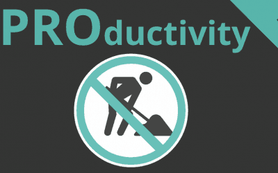 #Productivity 1 – Stop Working!