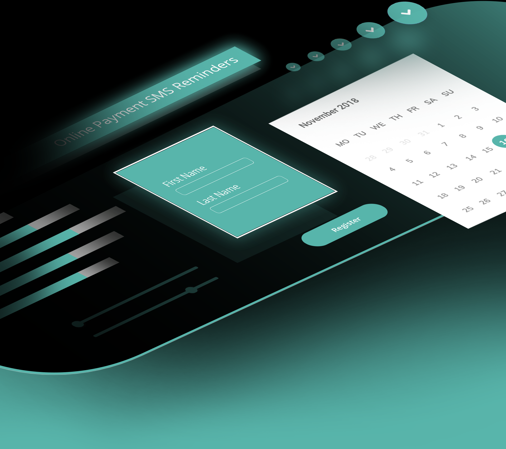 Scheduling Calendar Registration