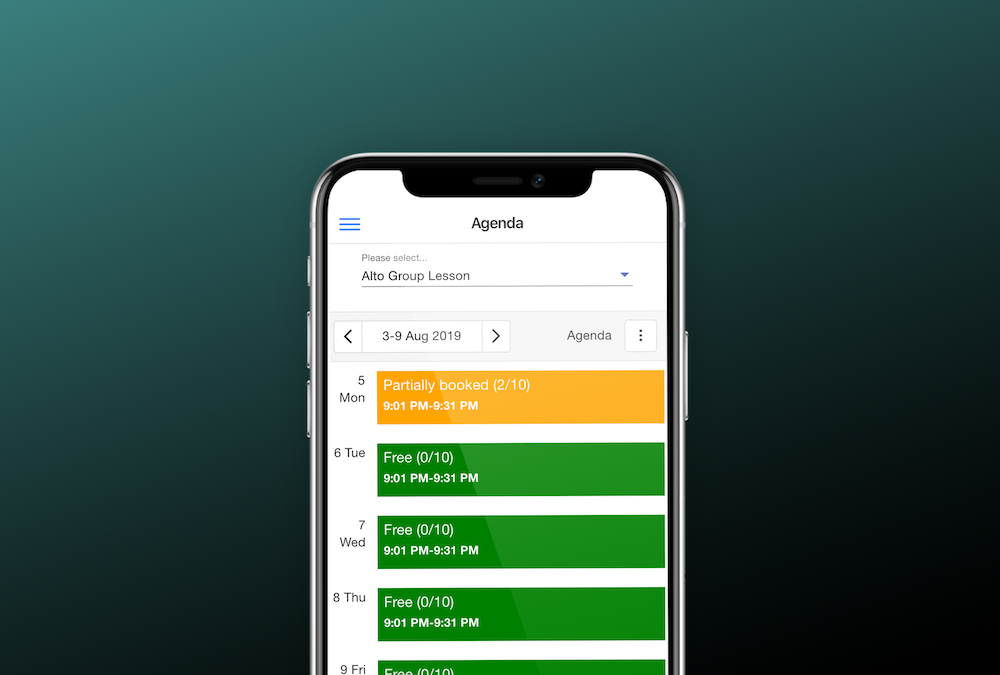 Sagenda Scheduling for iOS Is Now Available from the App Store