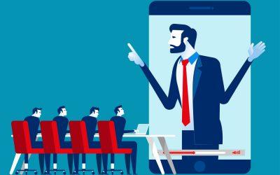 Organizing university online meetings