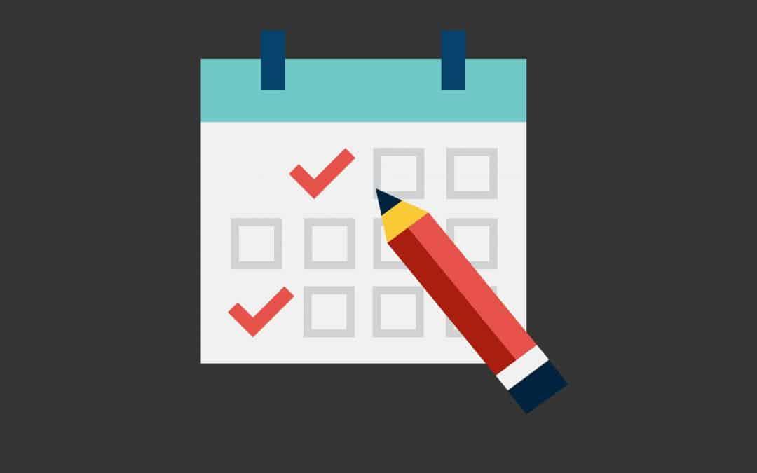 Nouveau calendrier et agenda publique