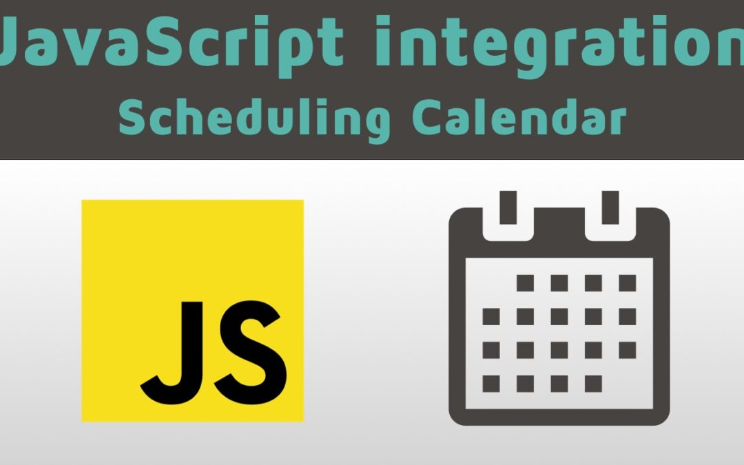 JavaScript Is a New Integration Method for the Booking Calendar